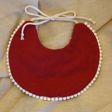 Load image into Gallery viewer, 'Ruby Red' Reversible Bib