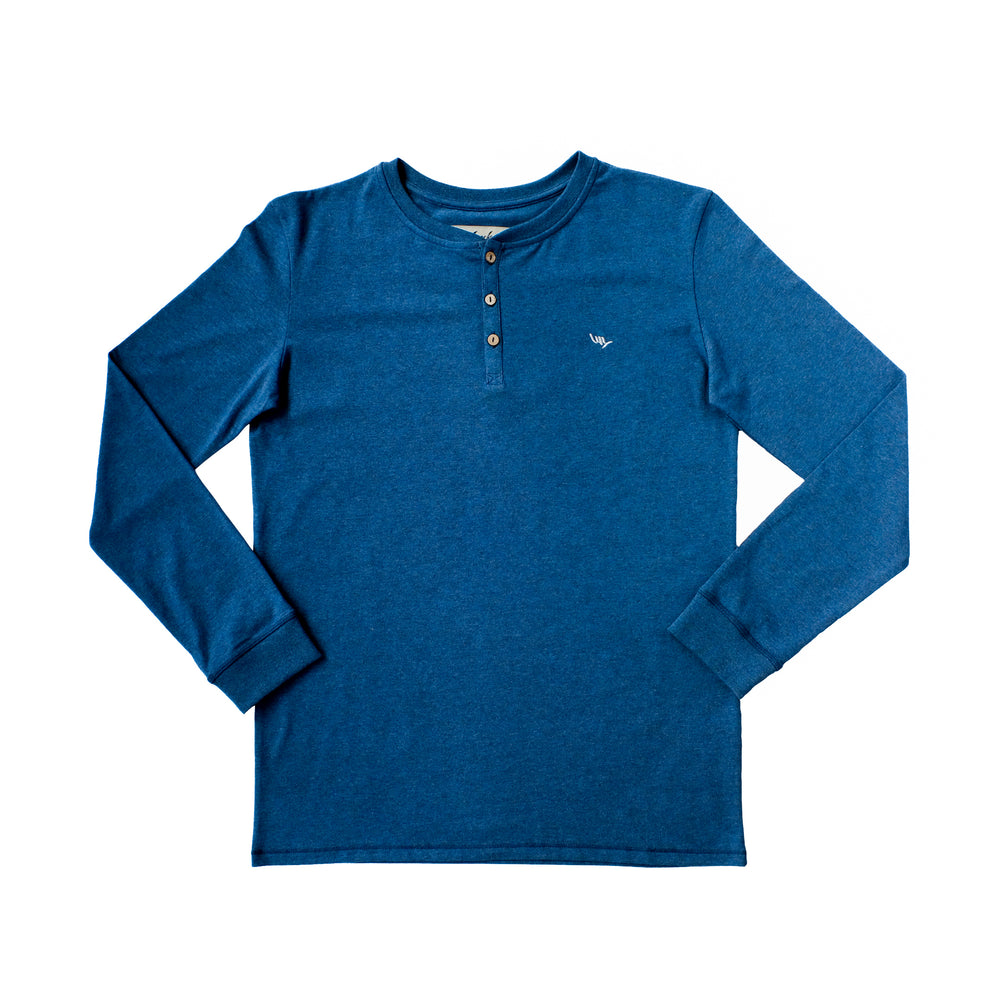 Pipeline LS Tee - Blue