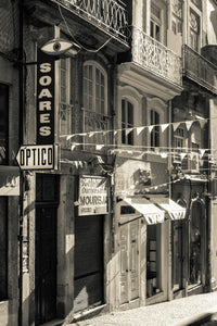 Old street in Porto, Portugal-Mark Bolton Print Shop
