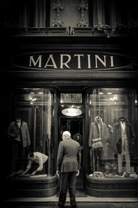Martini, Shop In Lucca-Mark Bolton Print Shop