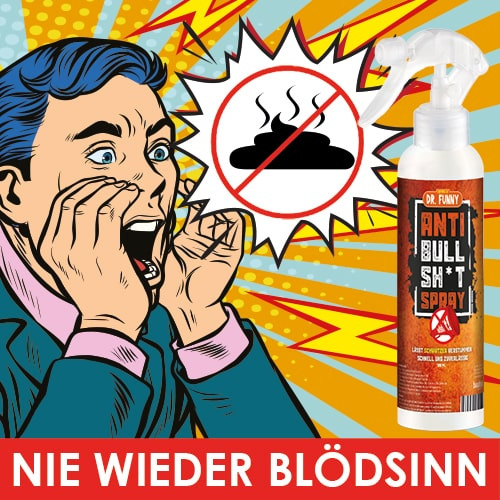Dr. Funny - Anti Bullshit Spray