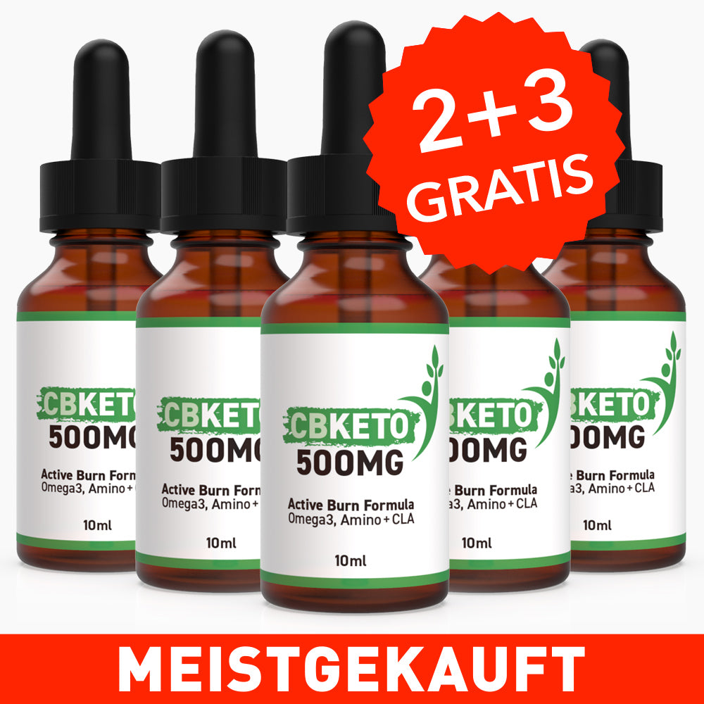 CBKETO 500MG - Active Burn Formula [+1 Flasche GRATIS]