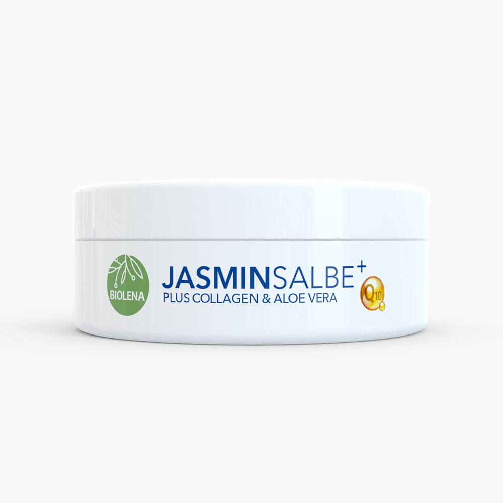 BIOLENA Jasminsalbe Plus - Mit einem Plus an Collagen & Aloe Vera