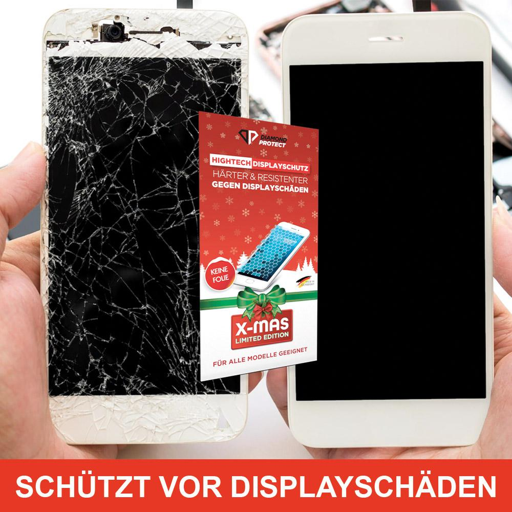 DiamondProtect Displayschutz X-mas Edition - 2er Pack