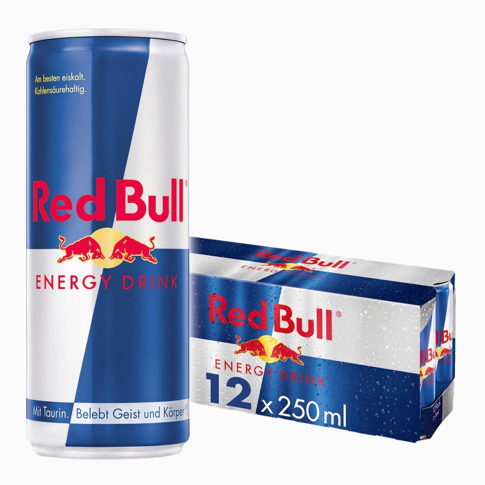 Red Bull Energy Drink 12x 250 ml