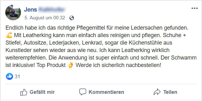 Leatherking Facebook