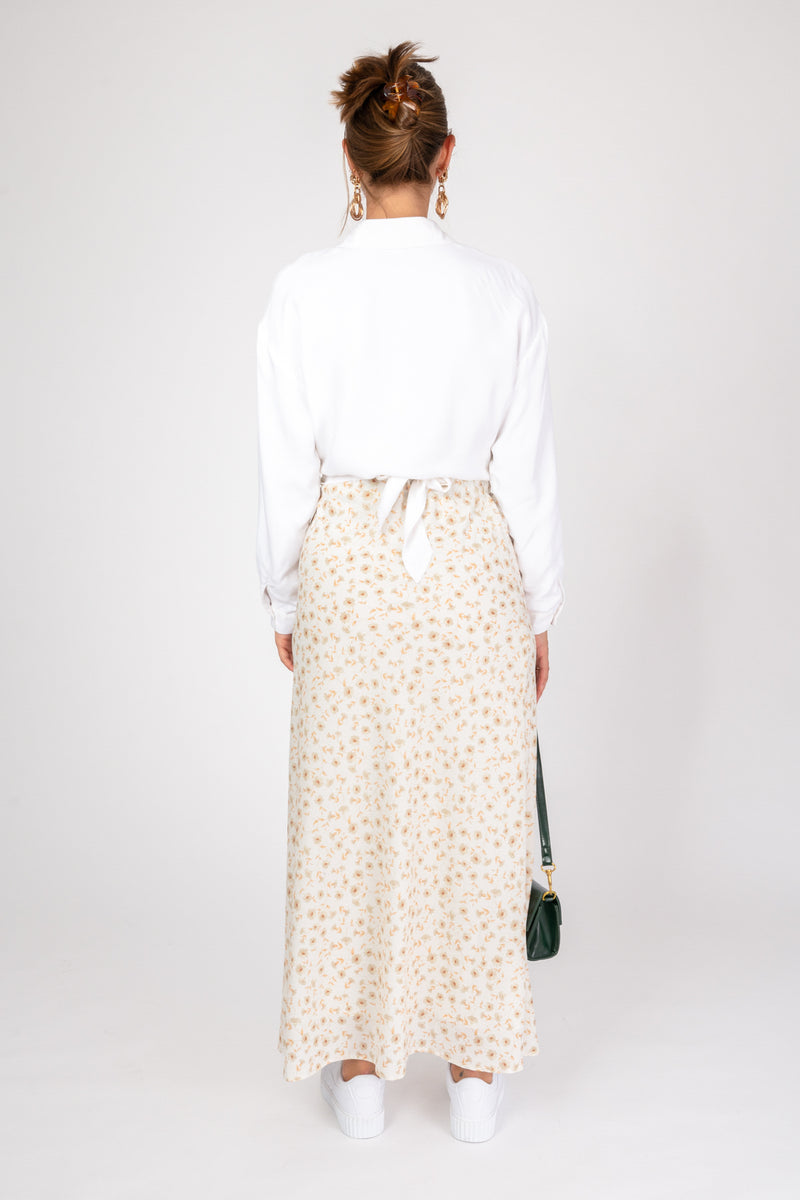 'Own it' Floral Skirt - Cosmo Print