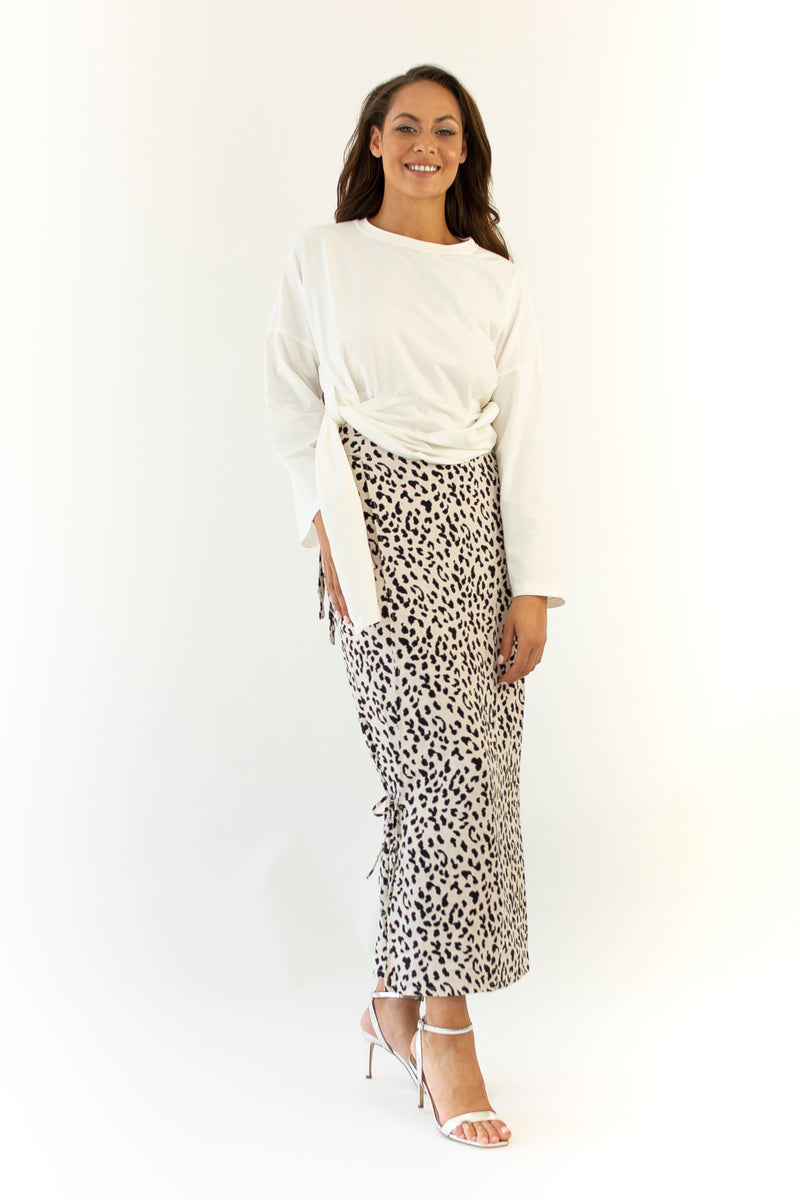 'XENA' LEOPARD SKIRT - ORIGINAL