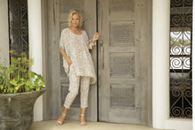 Load image into Gallery viewer, Luccia Sand Ikat Loren Kaftan Top