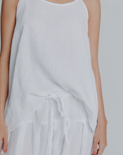 Load image into Gallery viewer, Lisa Brown Linen Charlie Tank