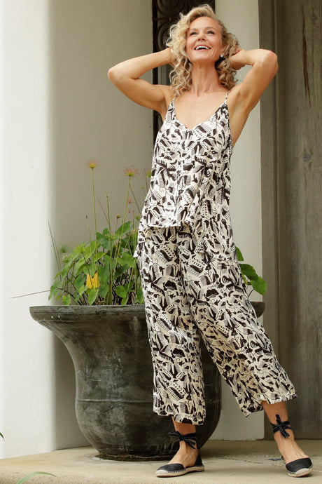 Luccia Natural Antique Bea Pant