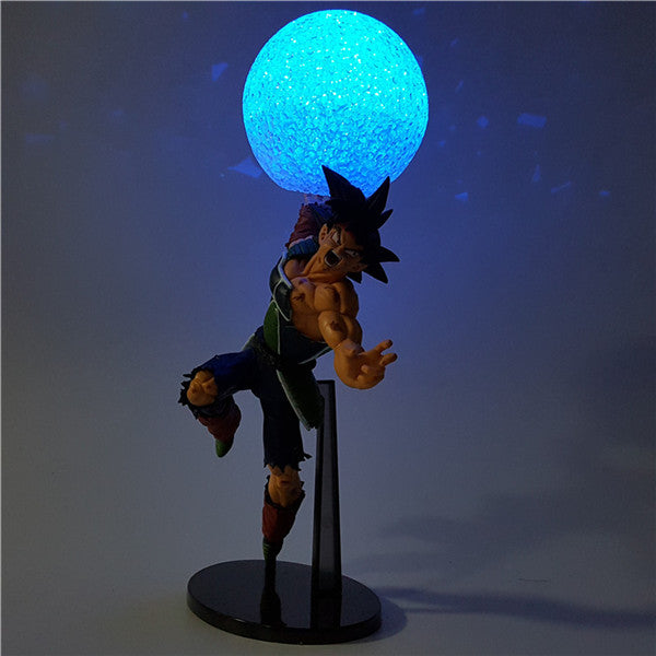 18cm Dragon Ball Z Bardock  LED