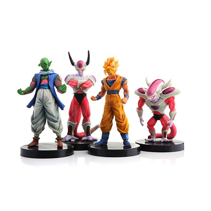 12cm Dragon Ball Z Set of Four Action Figures