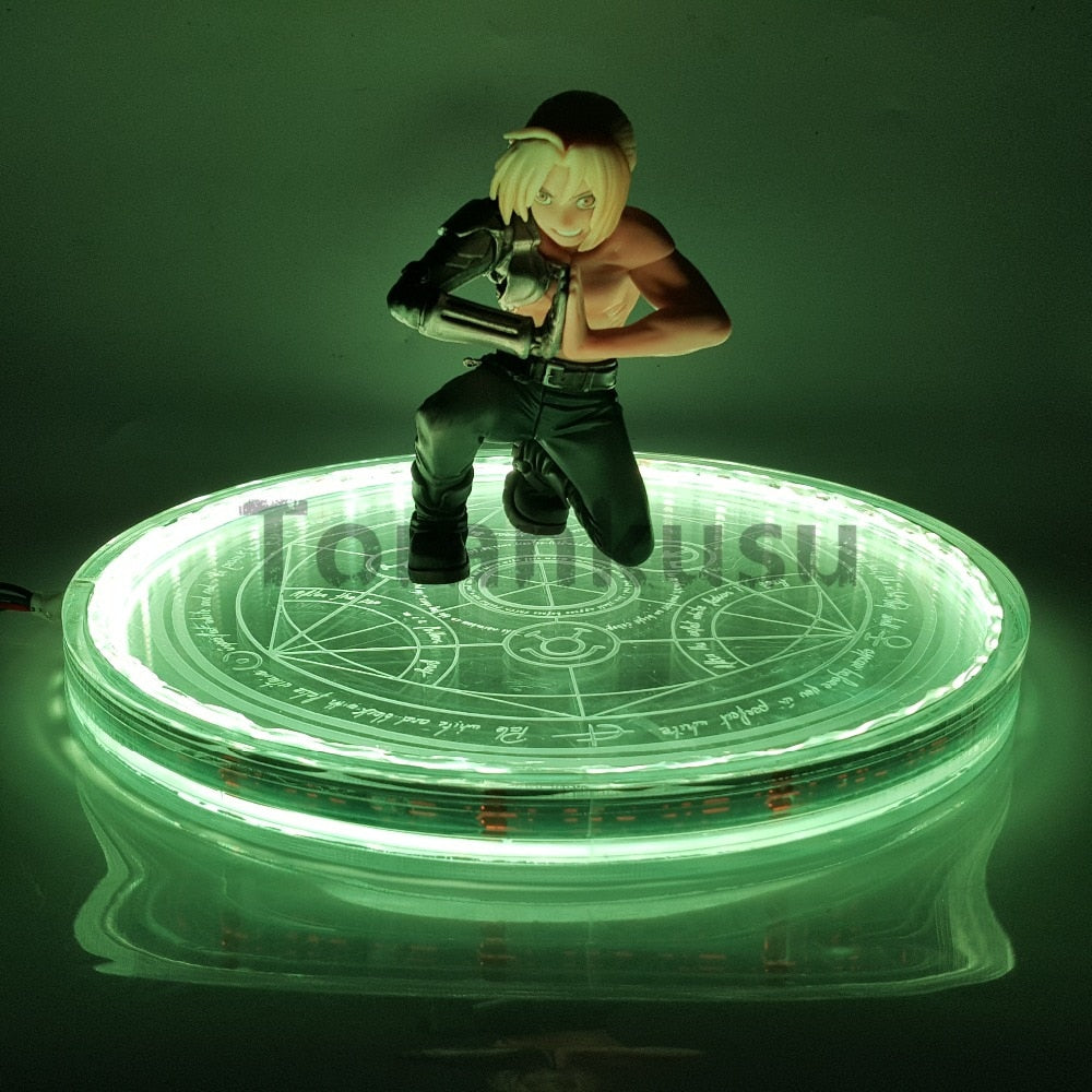 13cm Fullmetal Alchemist Edward Elric Led Color Changing with remote