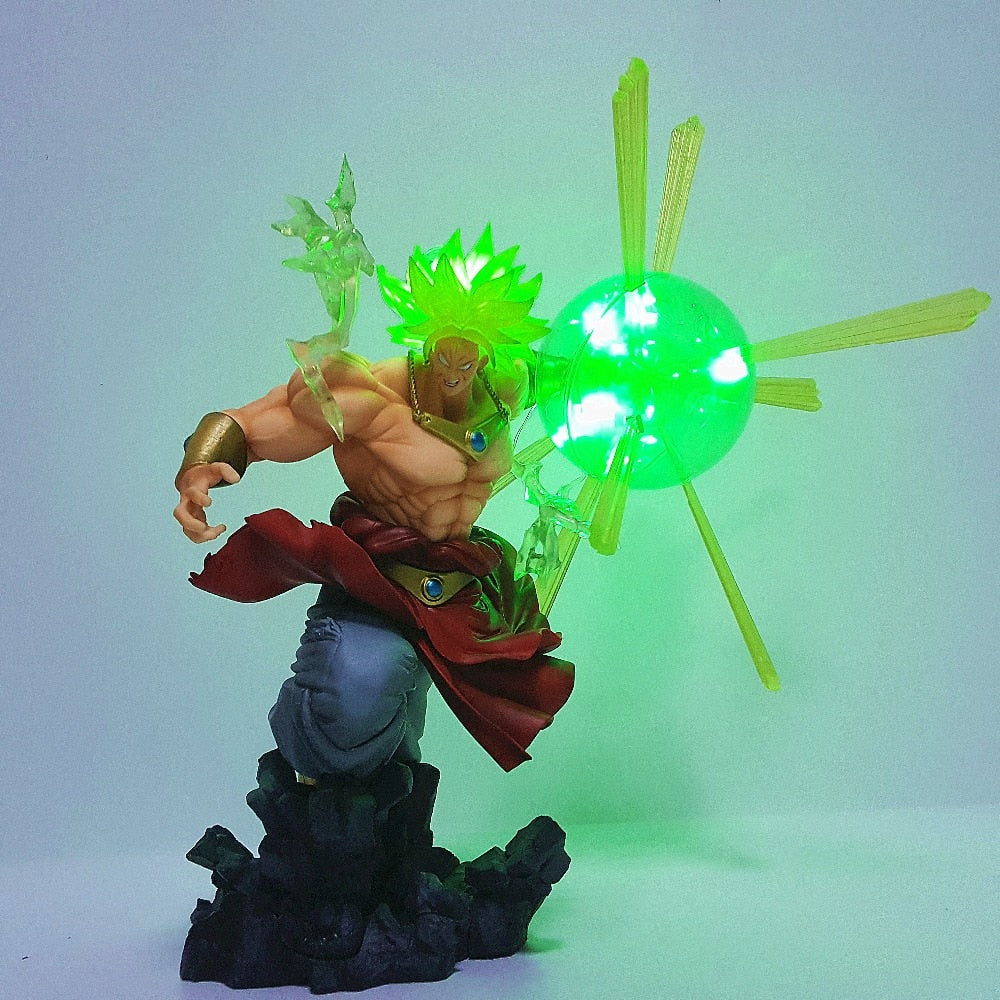 32cm Dragon Ball Z  Broly Super Saiyan Led