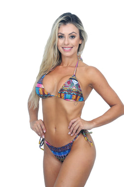 Biquini Cortininha Reserva Color Beads - Fashion Bikini Rio
