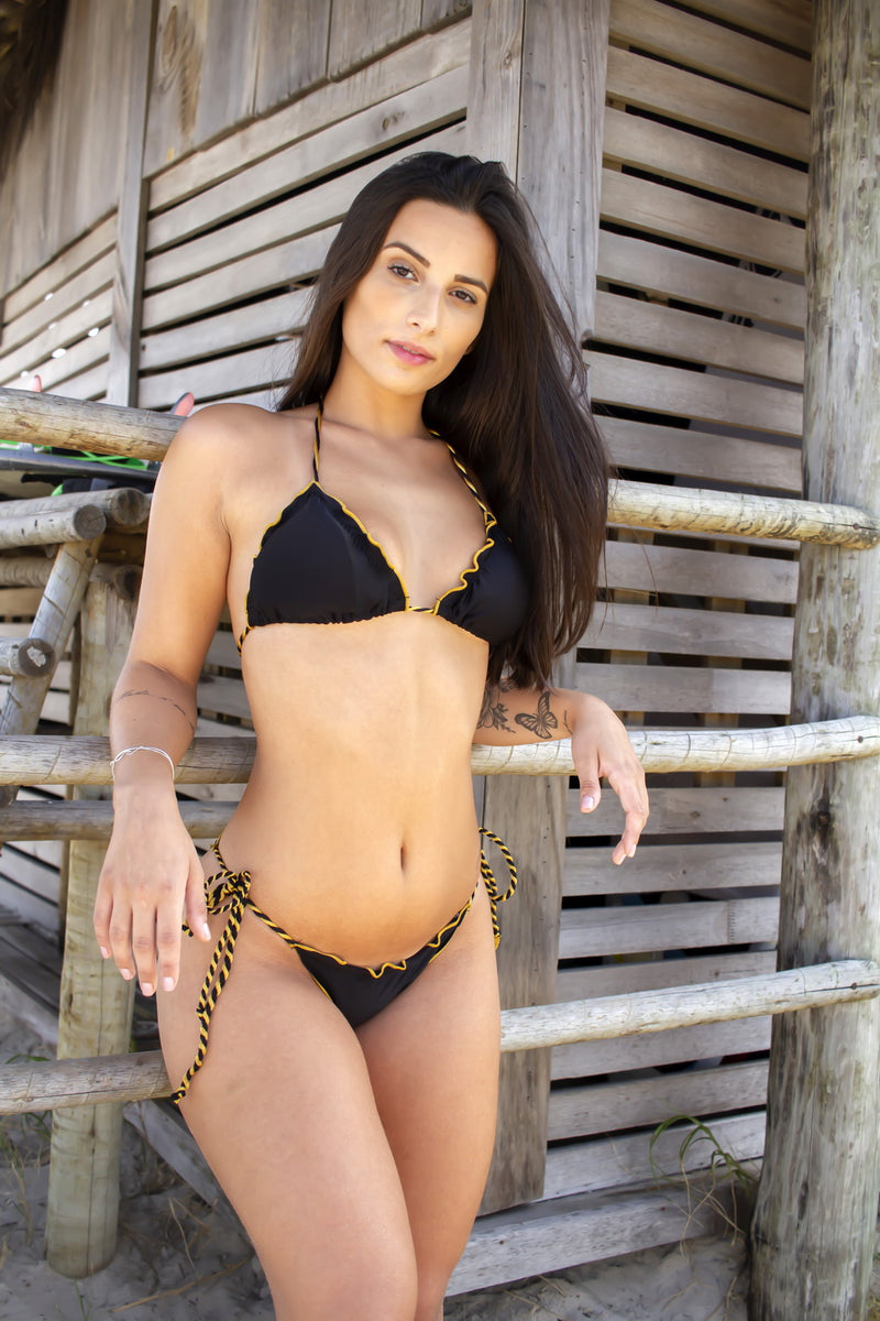 Ripple Rope Preto - Fashion Bikini Rio