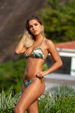 Biquini Ripple Rope Tropical - Fashion Bikini Rio
