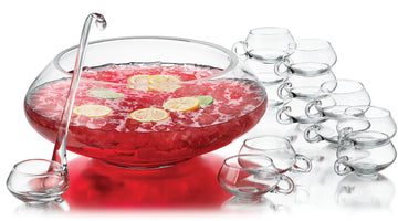 Raspberry Sparkling Fruit Punch