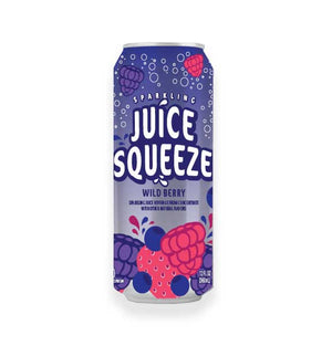 Juice Squeeze Wild Berry Single Can