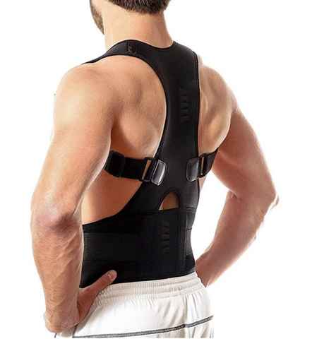 Self-heating Magnetic Posture Belt