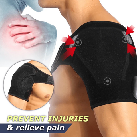 Adjustable shoulder Support Brace for soreness, Sprain and pain relief