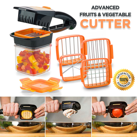5-in-1 Multifunction Vegetable & Fruit Cutter