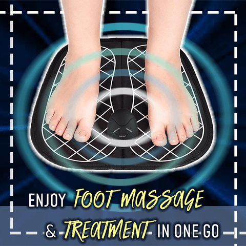 Electromagnetic EMS Therapy Foot Massager