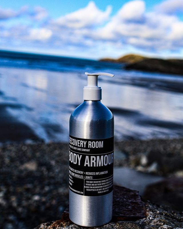 100% NATURAL. BODY ARMOUR cream...