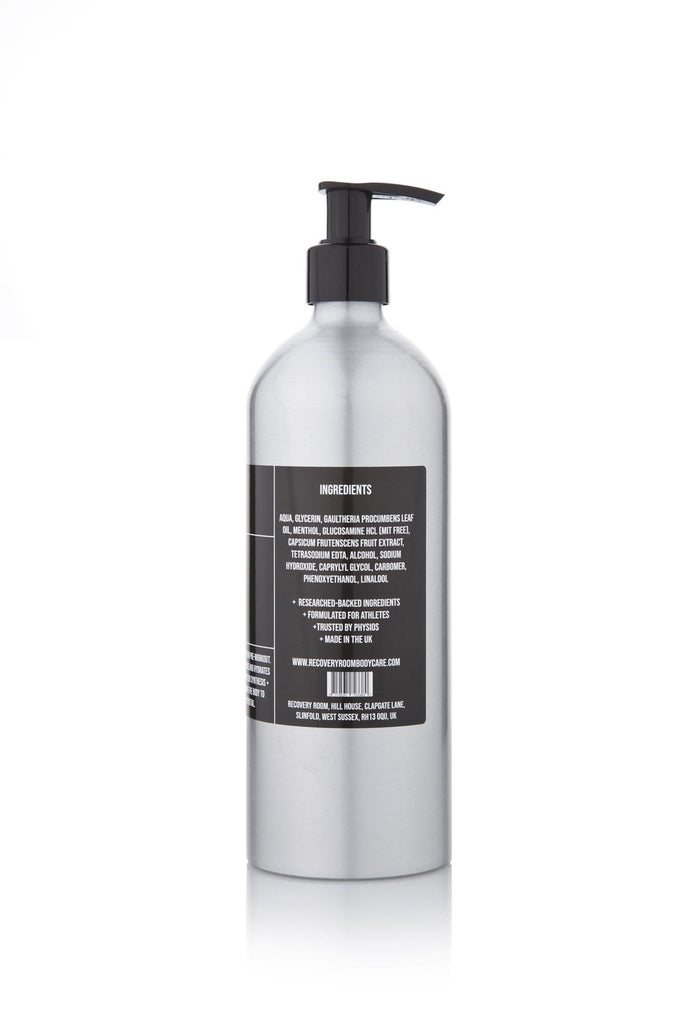 Warm-Up Gel- 500ml - Recovery Room Body Care