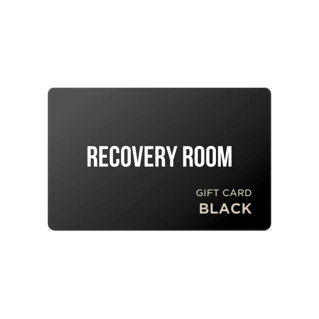 RECOVERY ROOM BLACK CARD - Recovery Room Body Care