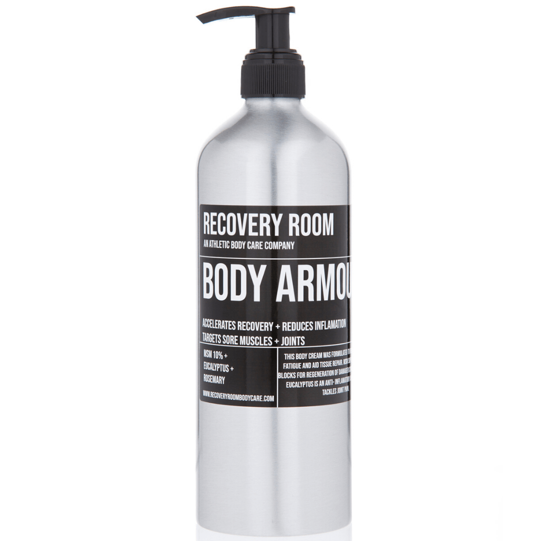 BODY ARMOUR | MSM CREAM | ALL OVER LOTION FOR SORE MUSCLES + JOINTS - Recovery Room Body Care