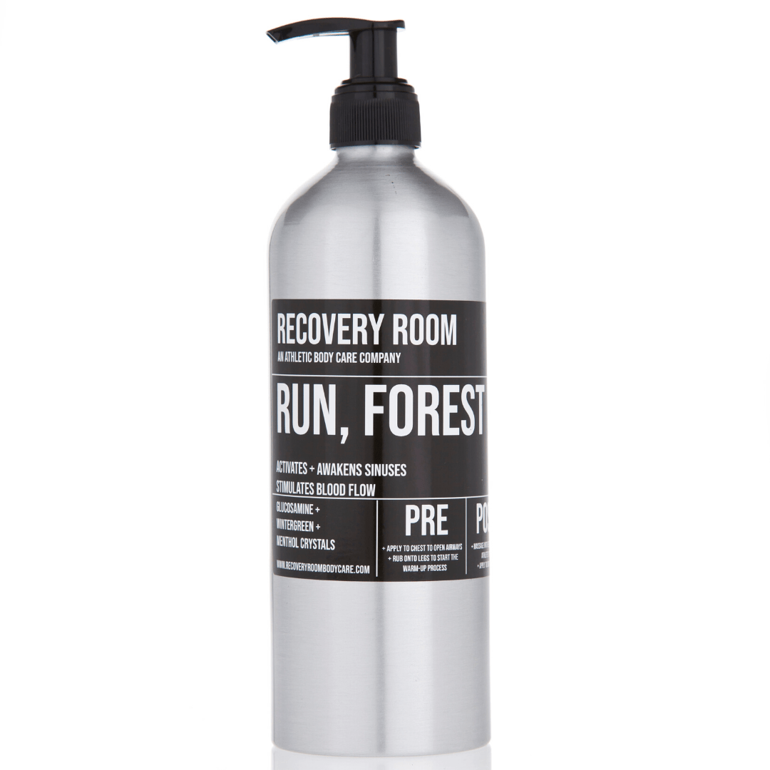 RUN, FOREST RUN- MARATHON GEL - Recovery Room Body Care
