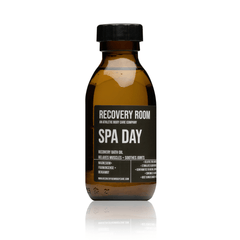 SPA DAY- BATH OIL | ANTI- ANXIETY FORMULA | SOOTHES ACHING MUSCLES | CLEARS SINUSES - Recovery Room Body Care