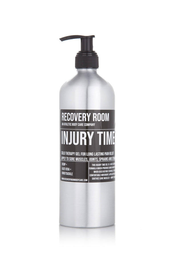 INJURY TIME | CRYOTHERAPY GEL | ANTI-INFLAMMATORY | DEEP RELIEF - Recovery Room Body Care