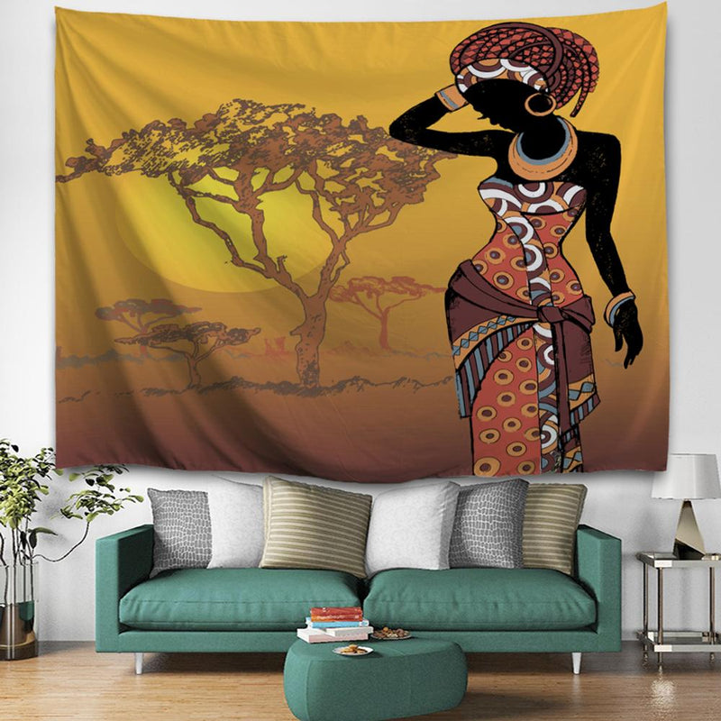 Exotic Women Art Decoration Wall Tapestry - Regocy