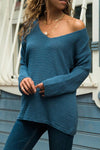 Basic Long Sleeves Knit Sweater - Regocy