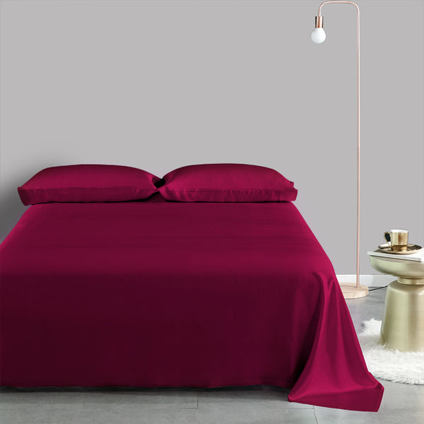 Olesilk 19 Momme 5 Pieces Silk 100% Pure Mulberry Silk Bedding Sets ( 1 Duvet Cover + 1 Flat Sheet + 1 Fitted Sheet + 2 Zipper Pillowcases )