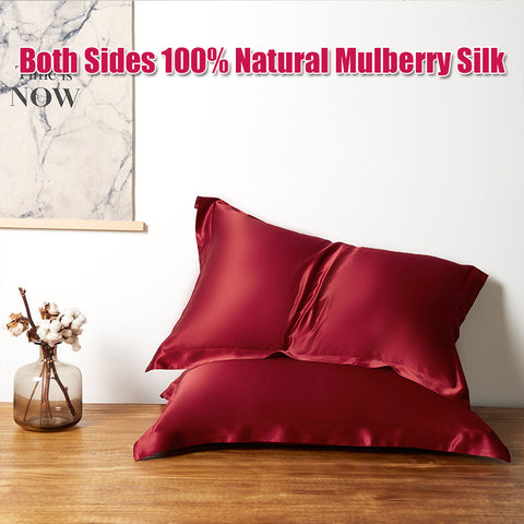 products/Olesilk_19_Momme_Oxford_Silk_Pillowcase_With_Envelope_Closure_-_Claret_5.jpg