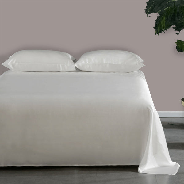 Olesilk 22 Momme Luxury Silk Flat Sheet