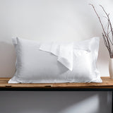 Olesilk Luxury 25 Momme Oxford Silk Pillowcase With Envelope Closure