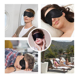 Olesilk Single Strap 100% Mulberry Silk Eye Mask For Sleeping