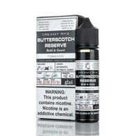 GLAS BASIX E-LIQUID - CREAMY RY4 BUTTERSCOTCH RESERVE - 60ML - 3MG...