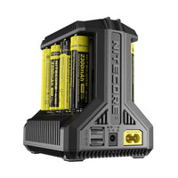 Nitecore i8 Intelligent Multi-slot Charger with USB Output...