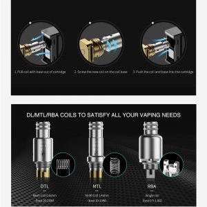 Smoant Pasito Replacement Coil....