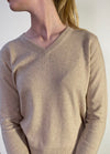 Smallmatters V neck sweather - Sand