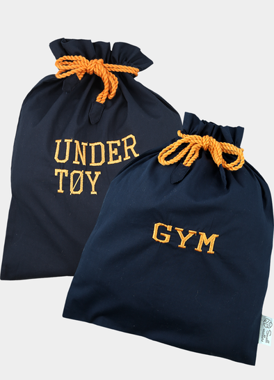 Gym- og undertøypose navy