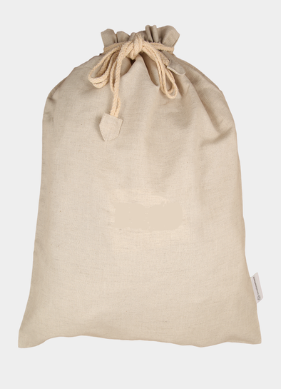 Plain bag beige - Stor