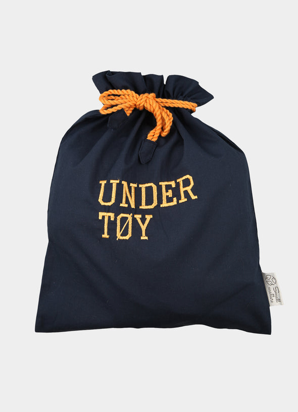 Undertøypose navy - oransje
