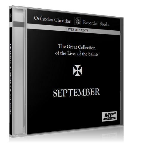 Great Collection of the Lives of the Saints – September, MP3 CD